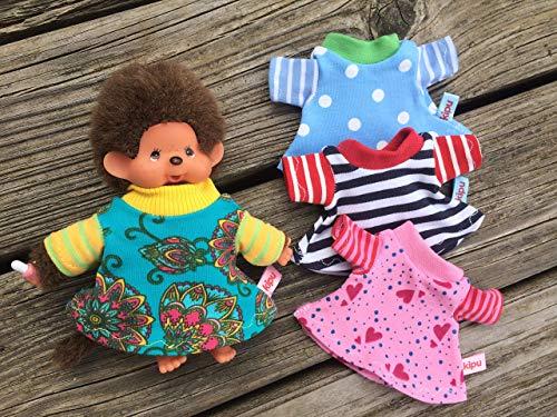 Puppenkleidung handmade für MONCHICHI Gr. 15-16cm Bebichichi Bekleidung Kleid Kleidung NEU