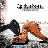 Cirage de Chaussure, Brosse à Chaussures électrique Automatique Cireuse à Chaussures électrique Cireuse à Chaussures Brosse à Chaussures pour Chaussures Sacs Entretien du Cuir
