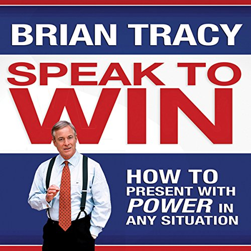Speak to Win audiobook cover art