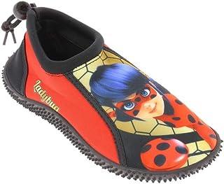 Sandalias Antideslizantes Takestop/® Zapatos de Playa acu/áticos Ladybug Lady Bug Miraculous de cart/ón Animado para ni/ña con Cierre de Cordones para Deportes acu/áticos
