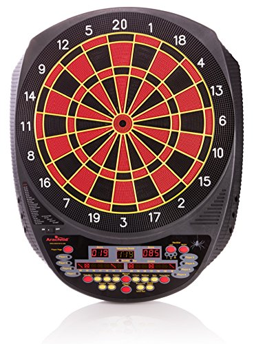 Arachnid Inter-Active 6000 Tournament-Size Electronic Dartboard Features 27 Games with 123 Variations for up to 8 Players