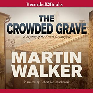 The Crowded Grave audiobook cover art