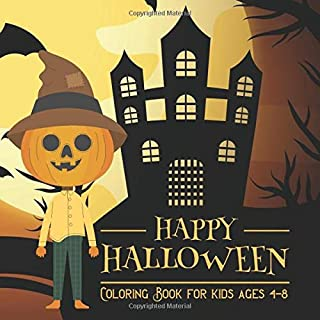 Halloween Coloring Books for kids ages 4-8: Coloring Book For Toddlers & Preschoolers, Fun, Silly & Simple Pumpkin Designs (halloween coloring pages for kids)