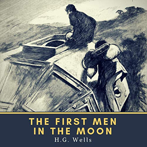 『The First Men in the Moon』のカバーアート