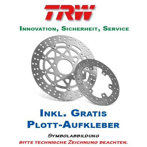 Lucas/TRW Bremsscheibe HINTEN Suzuki VS 1400 Intruder 1987-2003