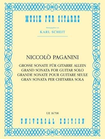 Grosse Sonate a-Dur. Gitarre