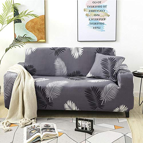 Sofa Slipcovers Non-Slip For Living Room Bedroom Kitchen Dining Room 4 seater,Waterproof Printed Sofa Cover Elastic All-Inclusive Couch Case For L Shape, Sofa Case For Pets 235-300cm(1pcs)