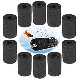 10 Pcs Filtro de Esponja Esponja de Filtro de admisión para Acuario Esponja Filtro de Acuario Cubierta del Protector Filtro Esponja Rollo Cartucho de Protección de Repuesto Filtros para Acuario