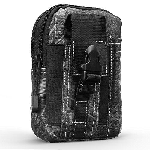 Preisvergleich Produktbild MoKo Taktische Hüfttaschen Molle Tasche,  Mehrzweck Universal Outdoor Reißverschluss EDC Pouch Handy Armee Camo,  iPhone 11 Pro / 11 / 11 Pro Max / Xs / Xs Max / XR