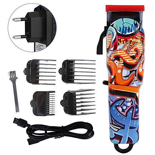 Tondeuse, elektrisch, graffiti, retro-gereedschap, oplaadbaar, trimmer