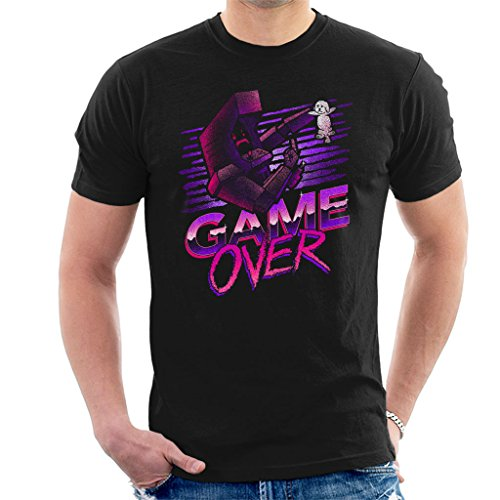 Game Over Kung Fury Men's T-Shirt