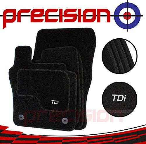 Fitted Tailored Car Mats for VW Golf MK7 (2013-2018) with TDi Logo LM09