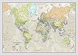 Maps International Riesige Weltkarte - Klassisches