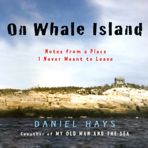 On Whale Island audiobook cover art