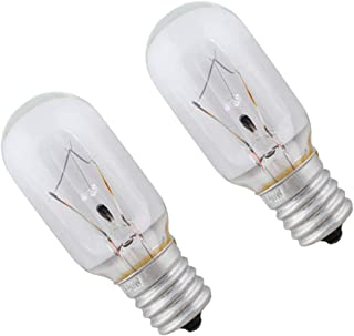 Wadoy 8206232A Light Bulb 125 Volt 40 Watt Replacement for Whirlpool Microwave-Replace 1890433 8206232 AP4512653(2 Pack)