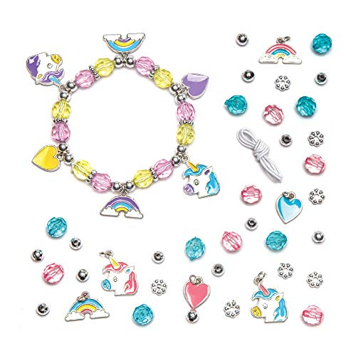 Unicorn Charm Bracelet Kits (Pack of 3)