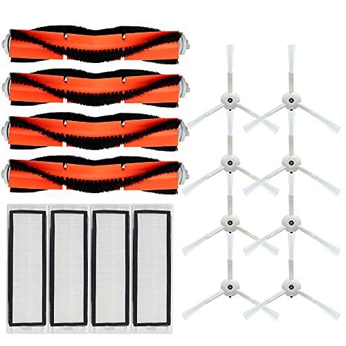 Piezas de aspiradora Cepillo lateral de filtro HEPA Cepillo