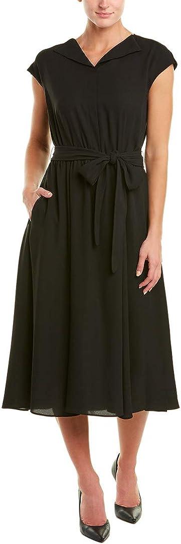 Anne Klein Women's Short Sleeve Shirt Dress