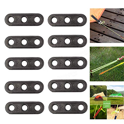 SparY Rope Tensioner, 10Pcs Tents Rope Fastener | Guyline Tensioner Lock | for Camping, Hiking, Backpacking, Picnic Shelter and Outdoor Activity(10pcs)