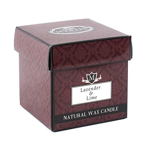Mystix London Bougie parfumée Lavande et citron vert 29 cl