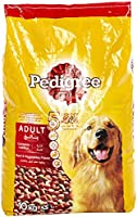 Pedigree Beef and Vegetable Dog Food, 10kg