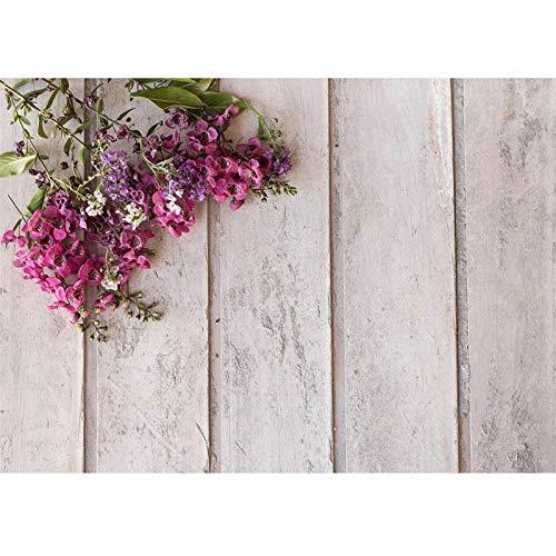 Studio Roze houten bloemen stock photography Vinyl stof achtergrond achtergrond voor kinderen liefhebbers Saint uit San fotoshoot Levendigheid (Color : FD 1686, Size (mm) : 150cmX100cm)