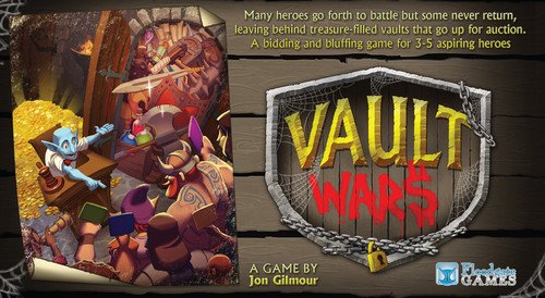Vault Wars Board Game