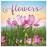 2020 Flowers Wall Calendar