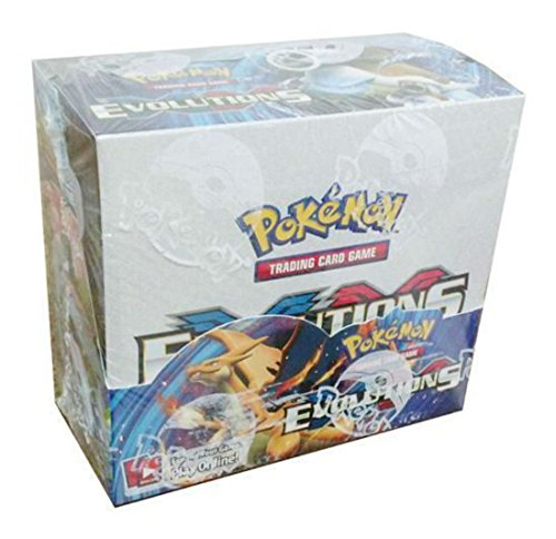 Unbranded Pokemon Evolutions XY Sealed unopened Booster Box 36 Packs of 10 Cards in Stock Whats Hot Now