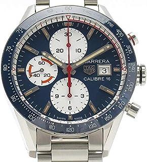 (タグホイヤー)TAG HEUER 腕時計 カレラ キャリバー16 クロノグラフ CV201AR SS メンズ 中古