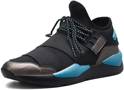 FF Chaussures pour Hommes Hommes Chaussures de Sport Chaussures en Coton Homme (Couleur   bleu, Taille   EU39 UK6 CN39)  magasin d'usine