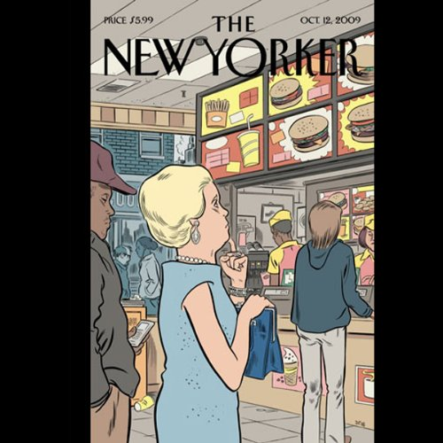 The New Yorker, October 12, 2009 (Ken Auletta, Tad Friend, James Surowiecki) cover art