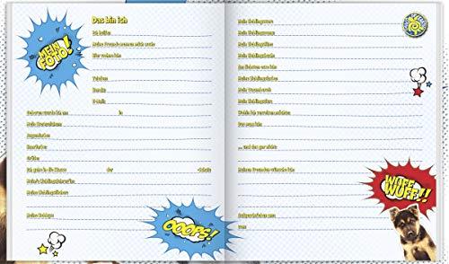 Brunnen Freundebuch mit Hund und Katze OOOPS! Meine Freunde Poesiealbum Fans of Earth