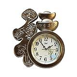 Relojes de Pared Mute Wall Clock New Chinese Style Bendición Muro Reloj de Pared Hogar Sala de estar Dormitorio Colgante Decoración Reloj de Pared 18.50 pulgadas digital alarm clock ( Color : B )