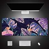 Girl Gaming Mousepad Table Mats Alfombrilla de goma antideslizante Teclado Imágenes de dibujos animados Alfombrilla de escritorio para regalo Alfombrillas de ratón 900x450x3mm