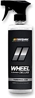 Turbo Wax Wheel Cleaner Deluxe, Destroys Brake Dust, Oil, and Road Grime, No Acids, Butyl Ethers, Harsh Detergents or Other Harmful Chemicals