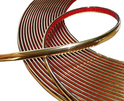 Aerzetix: 8mm 4.5m Stick Klebeband goldene Farbe Gold