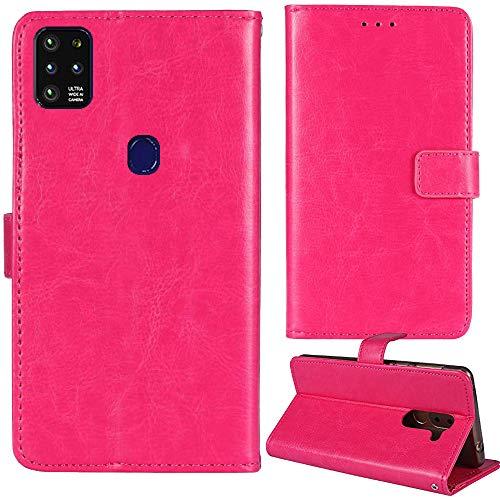 Lankashi Stand Premium Retro Business Flip Leather Case Protector Bumper for NUU Mobile G5 6.55