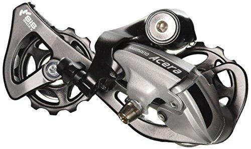 SHIMANO Unisex– Erwachsene Acera RDM360 Schaltwerk, Silber, One Size