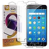 Guran 4 Paquete Cristal Templado Protector de Pantalla para Meizu M3 Note/Meizu Note3 Smartphone 9H Dureza Anti-Ara?azos Alta Definicion Transparente Película