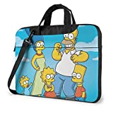 Laptop Sleeve Bag Anime Cartoon Simpsons Laptop Sleeve Case Cover 14 Inch, MacBook Air Pro Notebook Sleeve Case, Tablet Briefcase Ultra Portable Protective Case