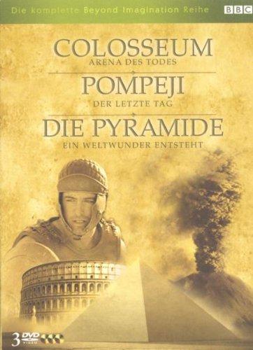 Colosseum - Arena des Todes / Pompeji - Der letzte Tag / Die Pyramide - Ein Weltwunder ... [3 DVDs]