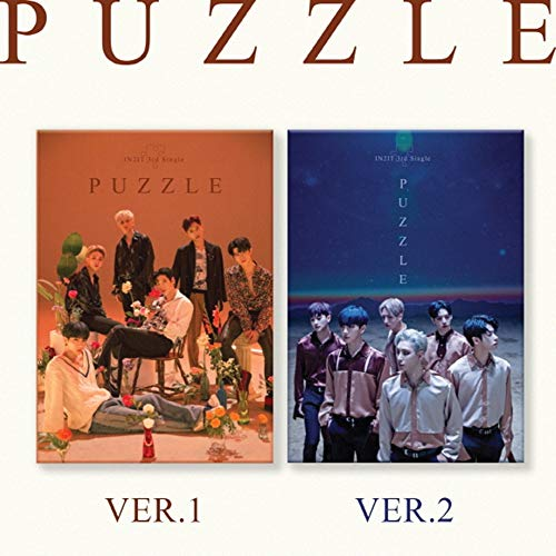 Stone Music [KIHNO Album] IN2IT - Puzzle (3rd Single Album) KIHNO KIT+Accordion Book+1Postcard+Title&Credit (Ver. 1+2 Set)