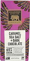 Endangered Species Chocolate Bar Dark Chocolate Caramel Sea Salt 3 Oz Case Of 12 by Endangered Species Chocolate