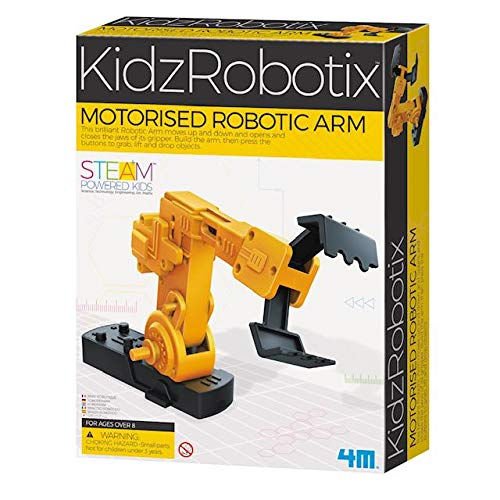 4M Motorized Robotic Claw Arm Kids Science Kit