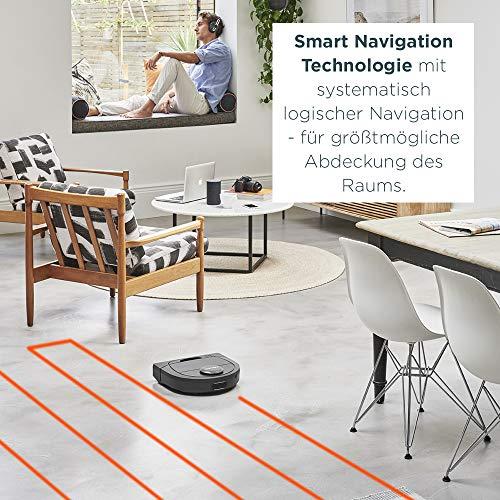 Neato Robotics Botvac D402 Connected – Saugroboter Alexa kompatibel & für Tierhaare – Automatischer Staubsauger Roboter mit Ladestation, Wlan & App - 3