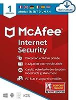 Jusqu'à - 20% de réduction sur le logiciel de sécurité Internet McAfee