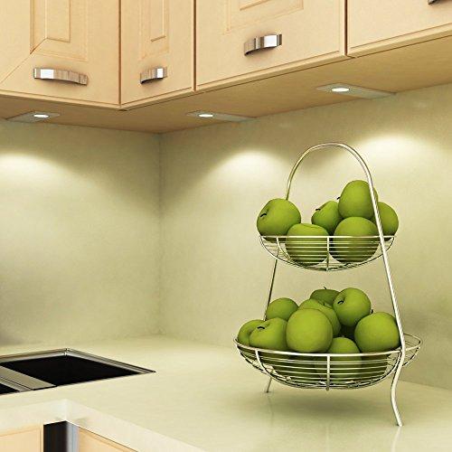 LED Küchenleuchte Unterbauleuchte Aufbauleuchte Küchenlampe Unterbaustrahler SET, Auswahl:3er Set neutralweiss