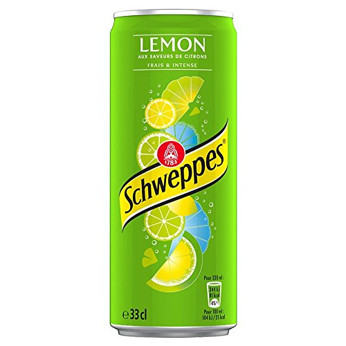 Schweppes Lemon 33cl (pack de 24)