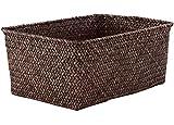 Compactor Kito - Cesta de junco trenzado, 30 x 20 x (altura) 13 cm, color...